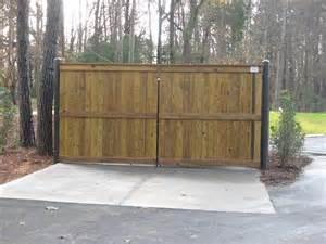 Wood Dumpster Enclosure Gate