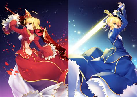 next fate anime series saber fate stay wallpaper and background image