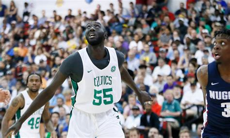 tacko fall expected  compete  celtics  roster