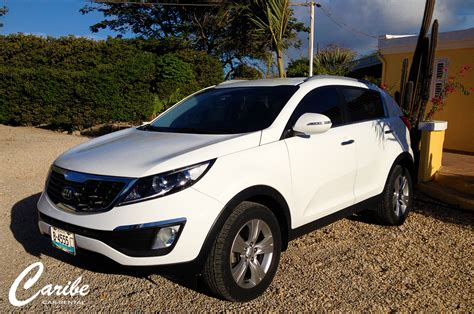Kia Rental Cars by Kia Sportage Caribe Car Rental