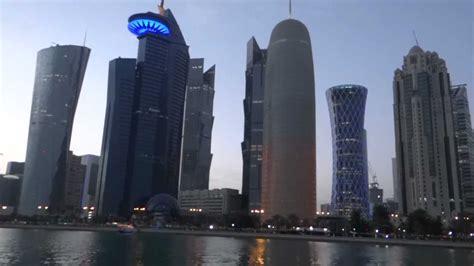 doha qatar downtown  dhow cruise hd  youtube