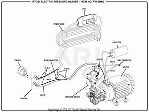 Electric Motor Wiring Diagram For Air Pressor