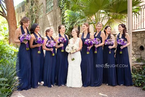 Flower Color For Navy Blue Wedding??