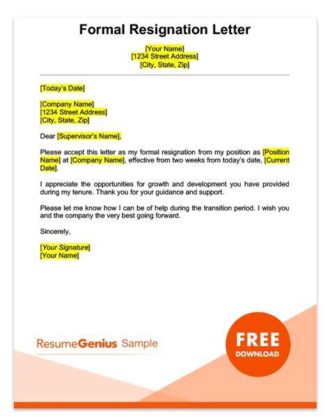 two weeks notice letter two weeks notice letter sle free