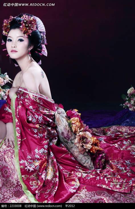 日本和服美女写真摄影图片免费下载_红动网