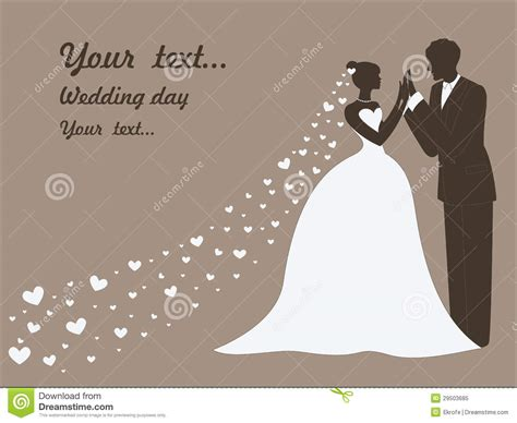 vector wedding card  married couples royalty