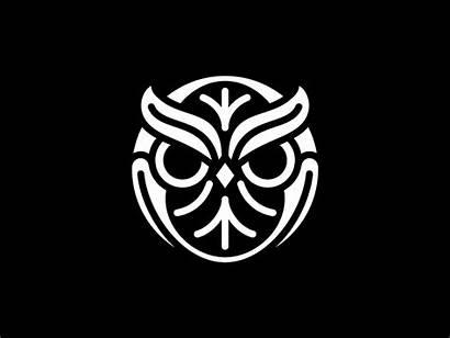 Owl Dribbble Graphic Owls Tattoo Buho Geometric