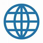 Internet Icon Line Cyber Icons Globe Data