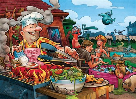 184 Best Images About Bbq Cartoons On Pinterest