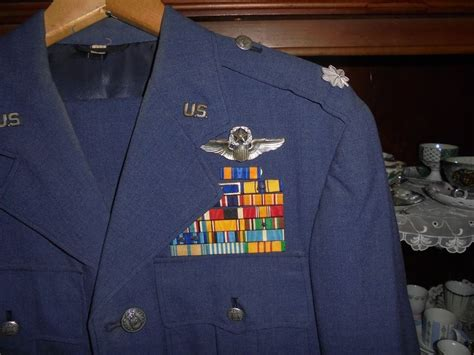 Usaf Lt Colonel Uniform, Wings, Ribbons & Artifacts Wwii