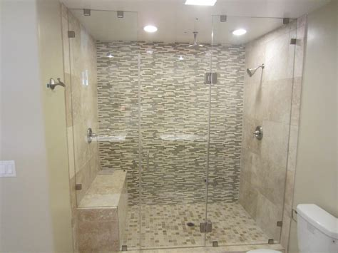 frameless sliding shower door san diego frameless enclosure patriot glass and mirror