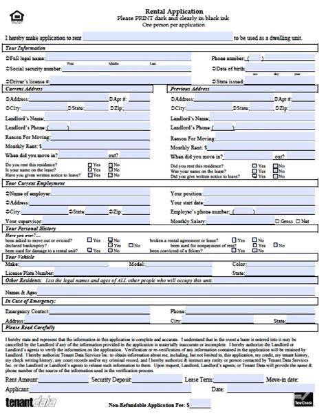rental application template rental application template peerpex