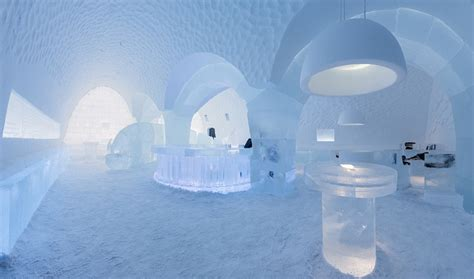 sweden ice hotel  guests  design   suite
