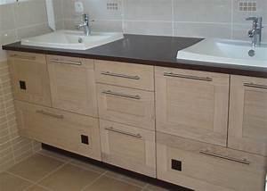 projet pour impressionnant creer son meuble salle de bain With creer son meuble de salle de bain