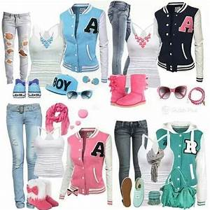 Love varsity jackets | Country outfits | Pinterest | The o ...