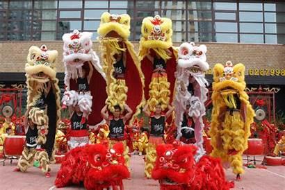Lion Dance Chinese Costume Dances China Tv