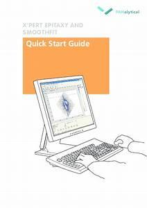 Pdf  X U0026 39 Pert Epitaxy And Smoothfit Quick Start Guide