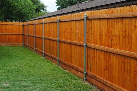 17 Best Ideas About Metal Fence Posts On Pinterest