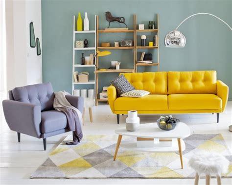 canapé design nordique créer un salon style scandinave à prix doux joli place