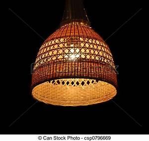 Abat Jour Osier : banque de photographies de abat jour osier osier abat jour clairage lampe ~ Teatrodelosmanantiales.com Idées de Décoration