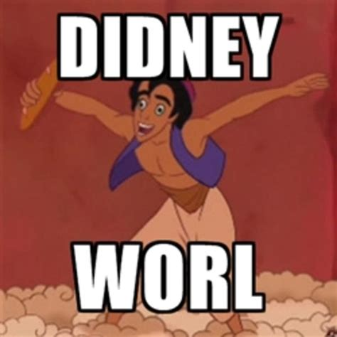 Didney Worl Meme - image 299782 didney worl know your meme