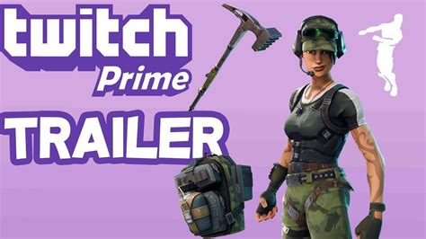 twitch prime pack  fortnite trailer youtube