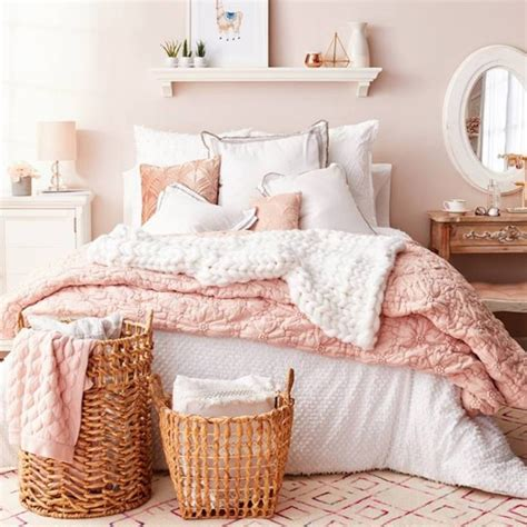 blush pink bedroom ideas dusty pink bedrooms i easy diy ideas from involvery