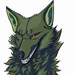 Icon Wolf Deviantart Ico Icons Psd Serigala