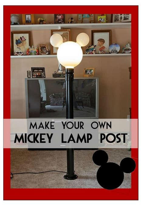 mickey mouse outdoor l post mickey l post instructions on how to build your very