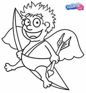 How to draw how to draw a cupid - Hellokids.com