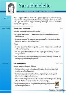 what is the best template for a resume - best resume formats 2016 free samples best resume format