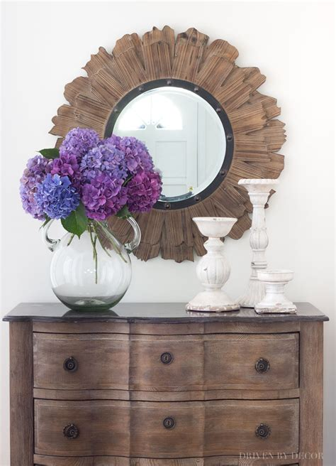 Decorating Ideas Around A Mirror by Ideas For Decorating With Mirrors Driven By Decor