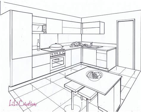dessiner une cuisine dessiner une cuisine en 3d gratuit dessiner sa cuisine