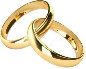 Transparent PNG Gold Wedding Ring