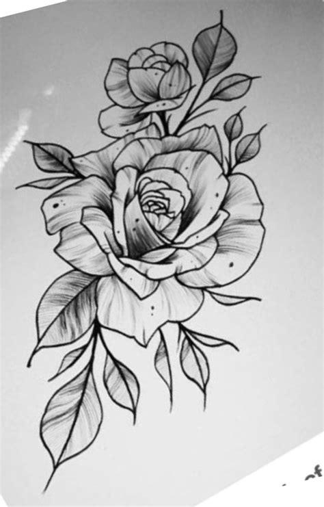 Pin de Артур Шек em розы Desenhos para tatuagem