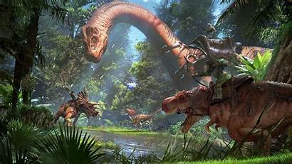 Ark Survival Evolved Wallpapers Wallpaperaccess Awesome Android