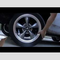 1970 Mustang Wheel Fitment 15x7 To 17x8 5x45 Bolt Pattern Youtube
