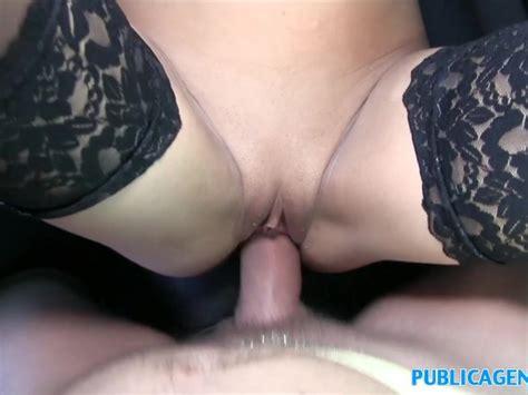 Publicagent Sweet Hot Sexy Ass Shown Off Before Blowjob