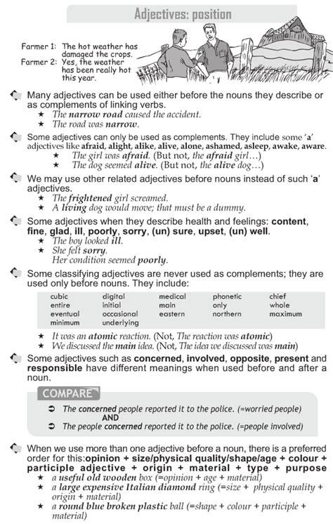 Adjectives Worksheet Grade 10  Kidz Activities