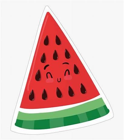 Clipart Objects Triangular Watermelon Object Triangle Kawaii