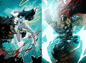Wonder Woman & Thor vs Darkseid - Battles - Comic Vine