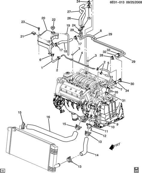 cadillac eldorado cooling system diagram