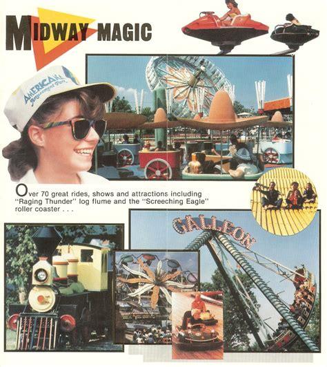 americana amusement park  park brochure