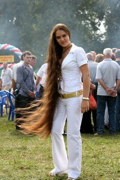 haircuts for thick hair rapunzel with knee length hair pictures of 9841