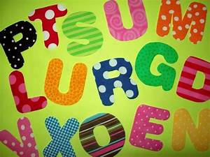 Fabric applique template pattern only alphabet letters for Fabric letter templates