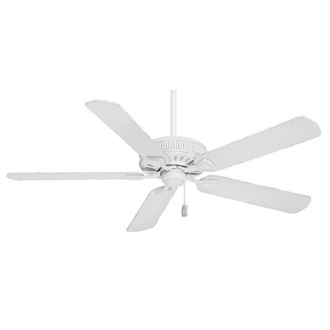 white flush mount ceiling fan shop casablanca ainsworth 60 in cottage white downrod or