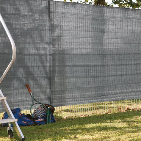 Garten Sichtschutzwand by Garten Sichtschutz Zaunblende Anthrazit Meterware