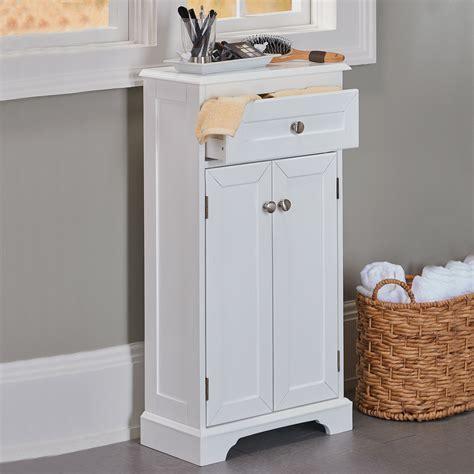 Slim Bathroom Cabinet Storage by Weatherby White Bathroom Cabinet Its Slim Design And