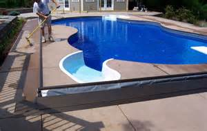 Inground Pools with Automatic Covers