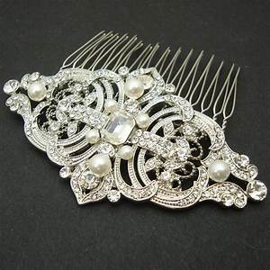 Vintage Style Bridal Hair Comb Wedding Hair Comb Wedding